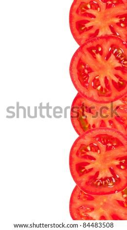 Tomato slices - stock photo
