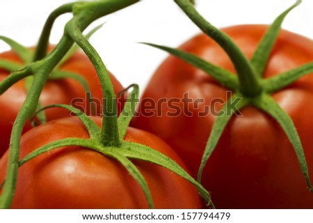 Tomato with twig