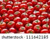 Tomatoes at market - stock photo