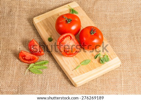 tomatoes on the Boards