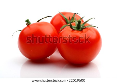 tomatos - stock photo