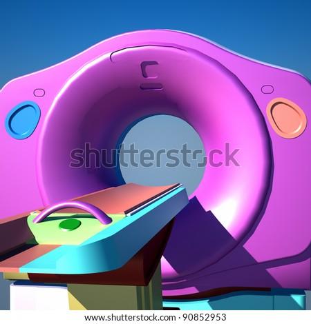 Tomography - stock photo