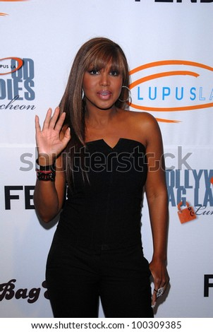 Toni Braxton at the Lupus LA 8th Annual Bag Ladies Luncheon, Beverly Wilshire Hotel, Beverly Hills, CA. 11-16-10