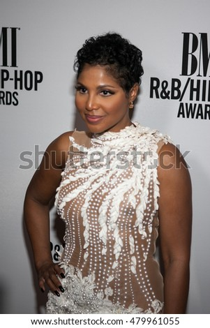 Toni Braxton Honored with the President's Award at the BMI R&B / HIP-HOP AWARDS IN ATLANTA SEPTEMBER 1ST 2016