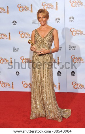 Toni Collette at the 67th Golden Globe Awards at the Beverly Hilton Hotel. January 17, 2010  Beverly Hills, CA Picture: Paul Smith / Featureflash - stock photo