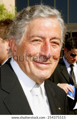 Tony Bennett attends the 59th Annual Primetime Emmy Awards held at the Shrine Auditorium in Los Angeles, California, United States on September 16, 2007.