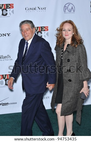 Tony Bennett & Susan Crow at Movies Rock: A Celebration of Music in Film at the Kodak Theatre, Hollywood. December 2, 2007  Los Angeles, CA Picture: Paul Smith / Featureflash