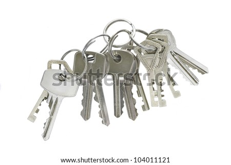 Too many keys in single bunch, inconvenient to handle.