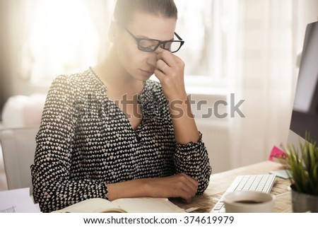 Too much work for one person - stock photo
