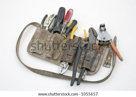 Tool belt - stock photo