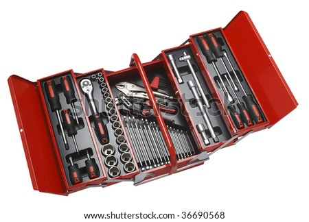 toolbox - stock photo