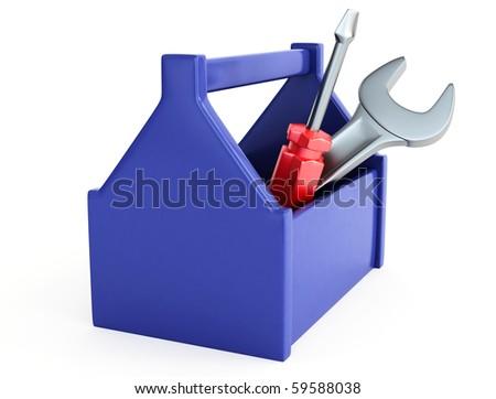 Toolbox - stock photo