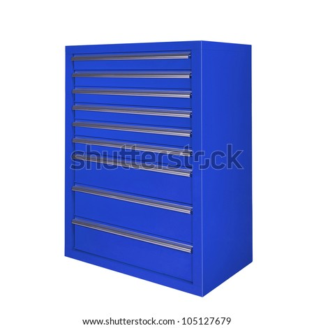 toolbox isolated on white