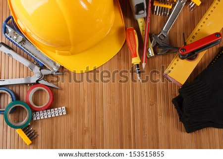 Tools for building on the table