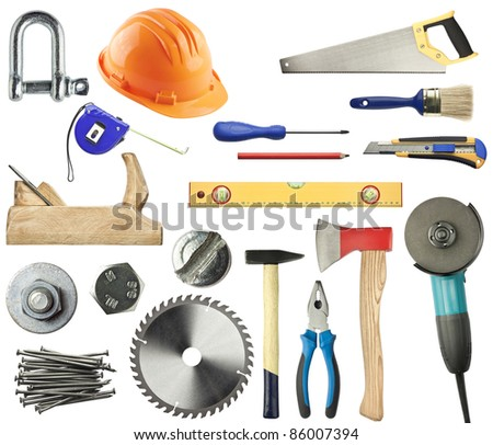 metal tools names. tools for wood, metal and other construction work. names