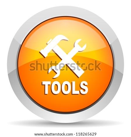 tools icon - stock photo