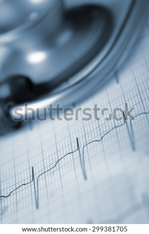 Tools of medical diagnostics concept - stock photo