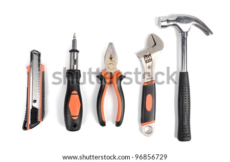 Tools set - stock photo