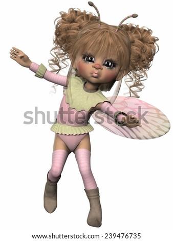 Toon Figure - Fantasy Bug - stock photo