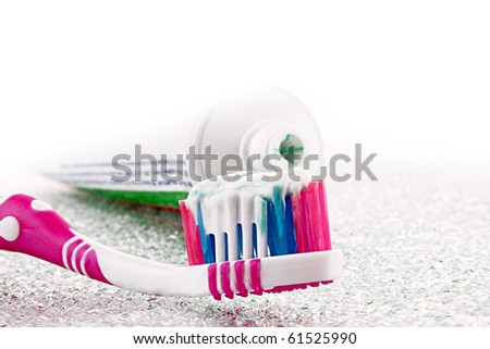 tooth brush - stock photo