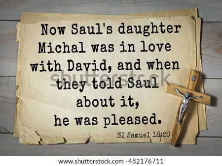 saul and david relationship