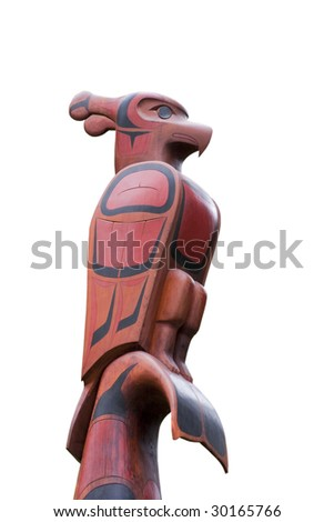Top of a Totem Pole, Canada