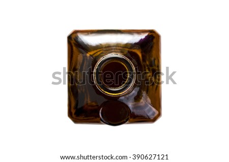 Top of bottle - stock photo