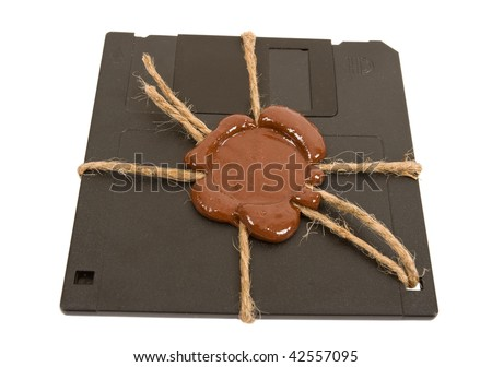 Top secret floppy disk
