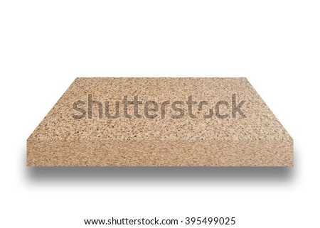 top surface of terrazzo floor on white background