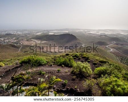 Top view of Arona. Tenerife, Canary Islands. Spain