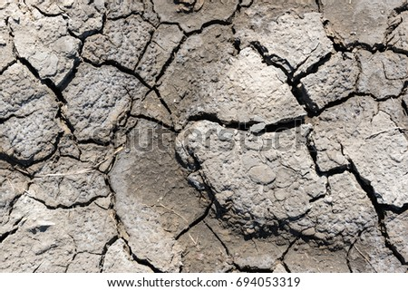 Stock images royalty free images vectors shutterstock top view of drought cracked soil texturedry mud background texture global warming sciox Images