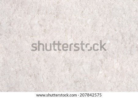 Top view of salt as background texture - stock photo