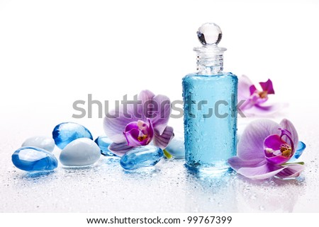 topic for spa salons - stock photo