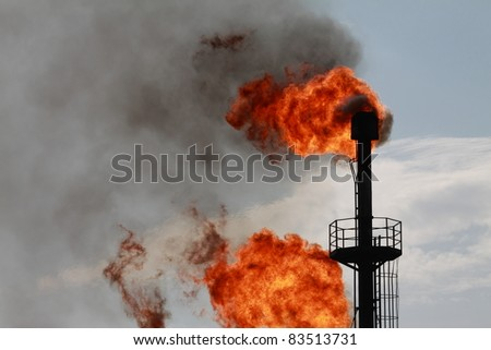 Torches for casing-head gas flaring during oil