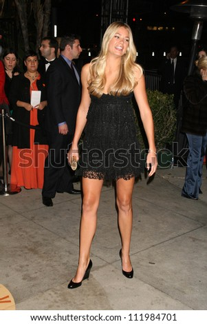 Tori Praver at the 2007 Vanity Fair Oscar Party. Mortons, West Hollywood, CA. 02-25-07