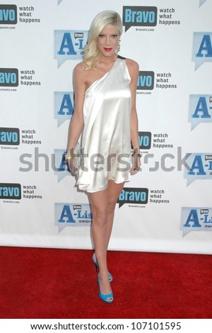 Tori Spelling  at Bravo's 'The A-List Awards'. The Orpheum Theatre, Los Angeles, CA. 04-05-09