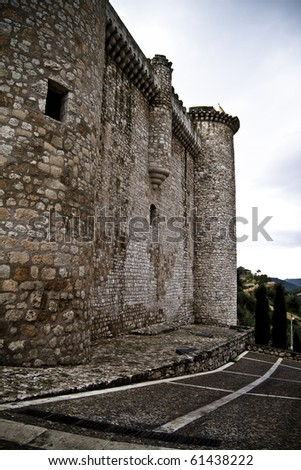 Torija�´s Castle in Spain, medieval building.