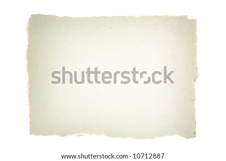 Torn Paper. Ready for Your Message. - stock photo