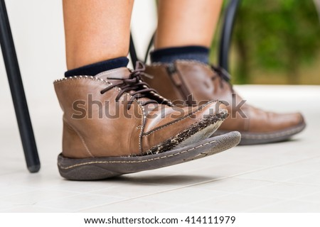 quot used shoes quot stock photos royalty free images vectors