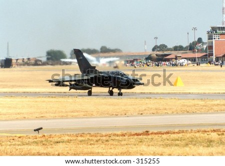 Tornado Fighter Aircraft - stock photo
