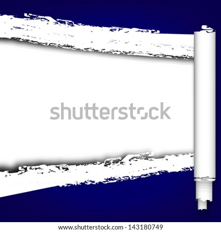 torned paper background .