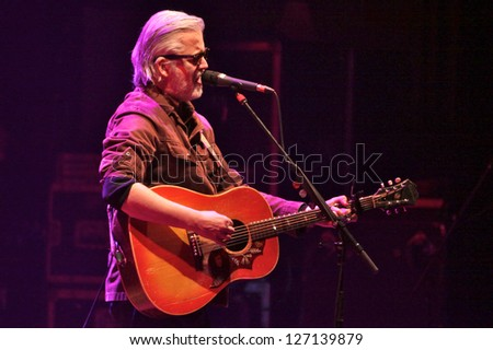 TORONTO, CANADA - FEBRUARY 1 : Blue Rodeo Performs in Toronto at Massey Hall on February 1, 2013.