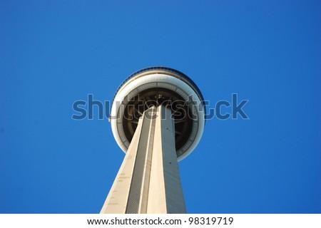 Toronto CN (Canadian National) Tower, Toronto, Ontario, Canada - stock photo