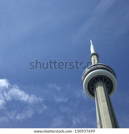 Toronto CN Tower - stock photo