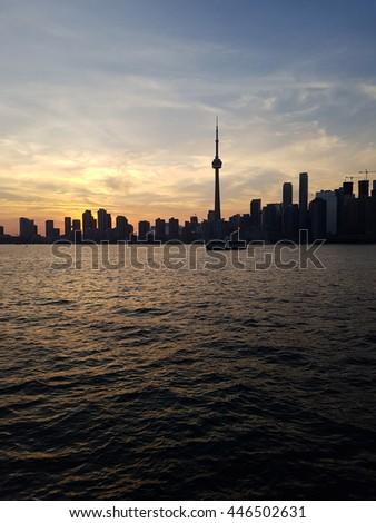 Toronto Downtown Skyline - stock photo