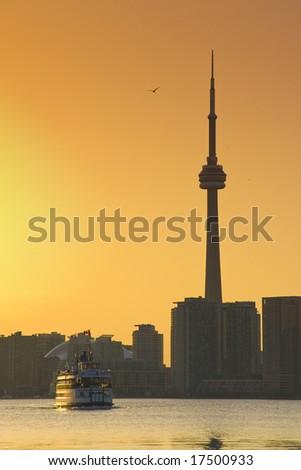 Toronto Ferry - stock photo