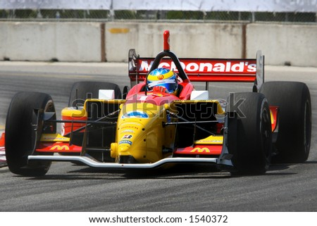 Toronto Grand Prix, Molson Indy race car - stock photo