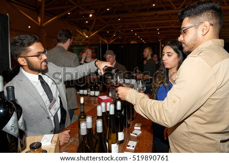 TORONTO  ?? November 17, 2016: At the 22th Annual Gourmet Food and Wine Expo, held from Nov.17 to Nov.20, there were over 1500 wines, beers and spirits from around the World.