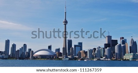 Toronto Skyline, Canada - stock photo
