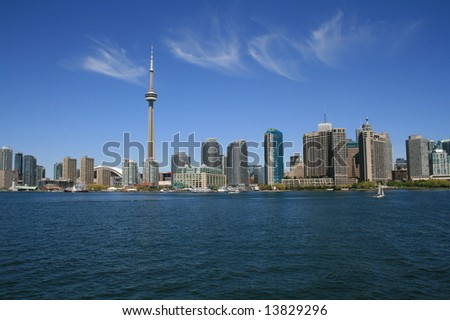 Toronto Skyline in a sunny day